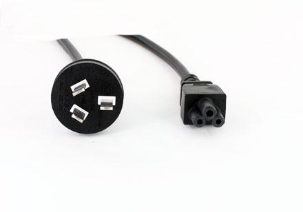 Cold devices power cord (Cloverleaf) AUS