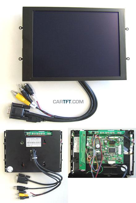 """CTF840-<b>MSH</b> - VGA 8.4"""" (4:3) TFT - Touchscreen USB - Video - <b>OPEN-FRAME</b> (<b>-TRANSFLECTIVE PRO-</b>)"""
