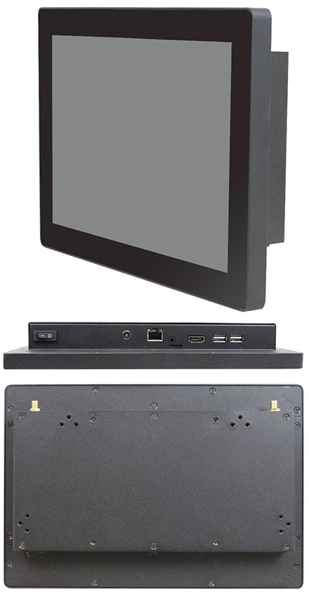 "Jetway HPC-WV101 (10.1"" Panel PC, ARM Cortex RK3288, 2GB RAM, 8GB Flash ROM, <b>9-36V Wide Voltage DC-in</b>)"