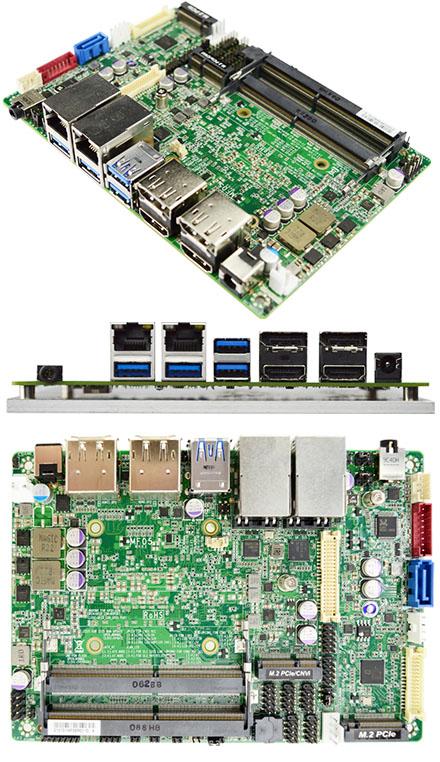 Jetway MF05-22 (Intel Tiger Lake-U i5-1145G7E) [PCIe 4.0, 2x LAN, 4x HDMI/DP, <b>TPM 2.0</b>]