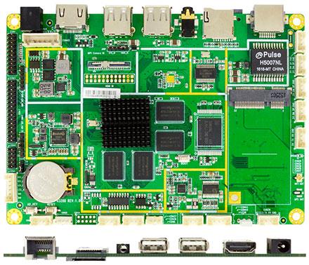 Jetway JARMR3288W (ARM Cortex A17, Android 5.1 / Linux Debian 9)