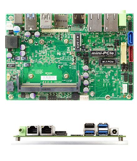 Jetway MF94-00 (Intel Apollo Lake J3455) [2x LAN, 9-36V DC-in]