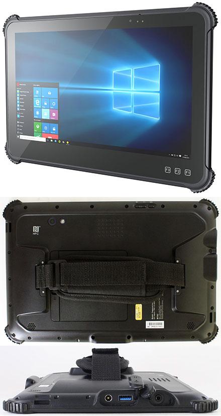 "Mitac Cappuccino Rugged IP65 Tablet-PC (11.6"" 500nits, Intel N4200, 64GB SSD, 8GB RAM, WLAN/BT, NFC, GPS, LTE 4G, Win10)"