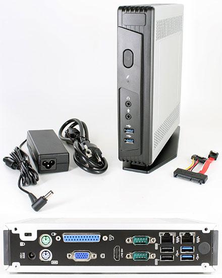 Mitac Pluto E230 (Intel Apollo Lake J3455 <b>4x 2.3Ghz</b>, 2x Gigabit LAN, VGA/HDMI, 2x RS232) [<b>FANLESS</b>]