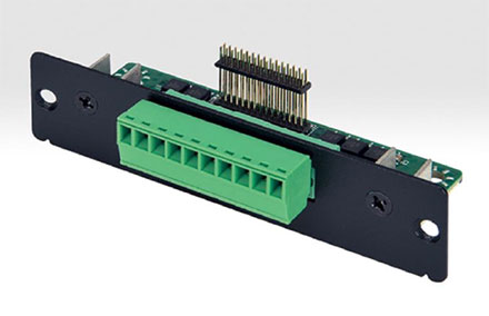 Mitac MB1-10AP expansion module MS-08DIO-D10 (8bit isolated DIDO, 4x Digital-In + 4x Digtal-Out)