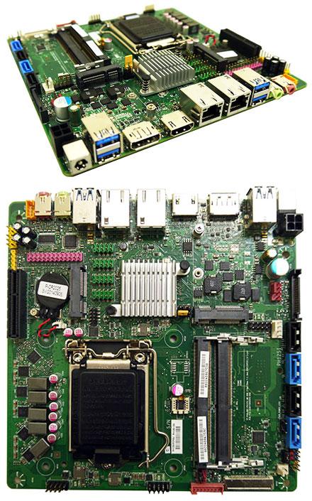 Mitac PH12SI (SKU D) Thin-ITX (Intel Q170, LGA1151 Skylake)