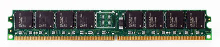 """RAM 512MB DDR-II 533Mhz -- low profile 0,8"""" inches high"""