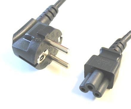 Cold devices power cord (Cloverleaf) EU