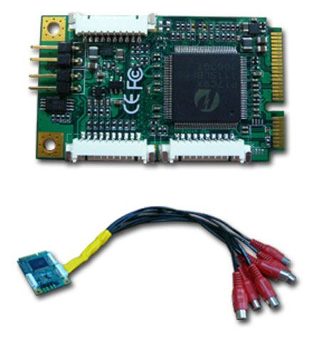 CarTFT VCC-320 Mini-PCIe (8x Video/Audio Capture Card)
